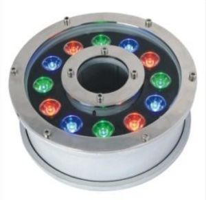 Outdoor Light 12W RGB LED Fountain Underwater Light pictures & photos