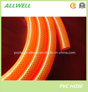 Plastic PVC Flexible Braided Transparent Clear Water Pipe Hose pictures & photos