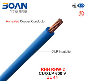 RHH/RHW-2, Building Wire, 600 V, Cu/Xlp (UL 44) pictures & photos