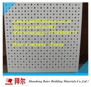 Hot Selling Acoustic Perforated Gypsum Plaster Board pictures & photos