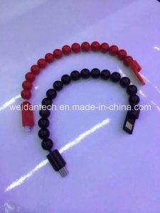 Beads Bracelet Designed Micro USB Cable pictures & photos
