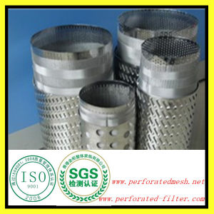 Ss304 Water Well Bridge Slotted Screen Pipe for Sand Control