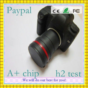 Full Capacity Camera Shape USB Flash Driver (GC-H211) pictures & photos