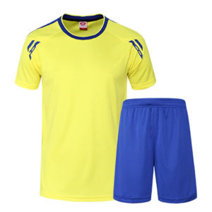 OEM Factory Round Neck V-Neck Dry Fit Sportswear with Customized Logo pictures & photos