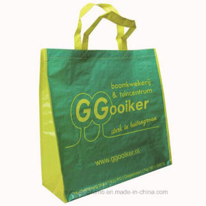 China Manufacture Recycled Promotion PP Woven Bag with Laminated pictures & photos