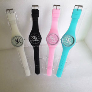 Candy Color Fashion Ladies Fancy Silicone Watches pictures & photos
