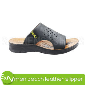 Genuine Leather for Men Beach Sandal (SNS-05006) pictures & photos