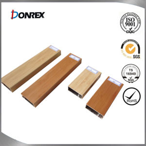 Wooden Cover Aluminum Profile