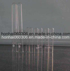 Clear Borosilicate Glass Plain Neck and Round Bottom Test Tube pictures & photos