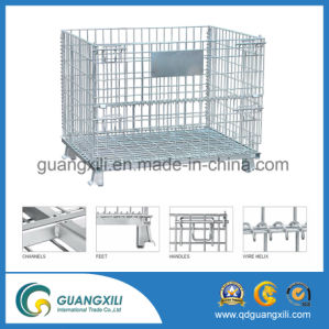 Large Metal Wire Container Storage Cage pictures & photos