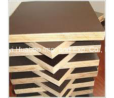 Plywood for Formwork Brown Film WBP Glue Poplar Core pictures & photos