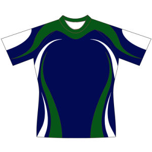 Custom Design Sublimated Rugby Shirt for Men pictures & photos