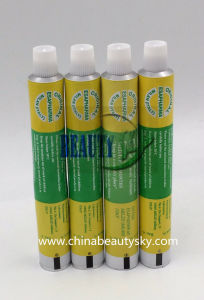 Pharmaceutical Packaging Eye Ointment Medical Cream Toothpaste Aluminum Collapsible Tube pictures & photos