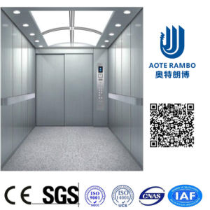 400kg-2000kg Gearless Traction Sterilization Hospital Bed Elevator with Machine Room (F02) pictures & photos