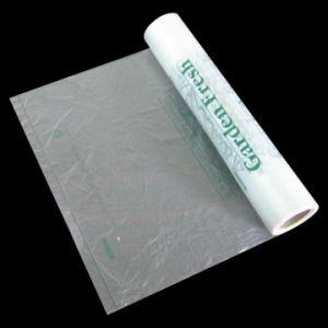 HDPE Transparent Plastic Printed Roll Bag pictures & photos