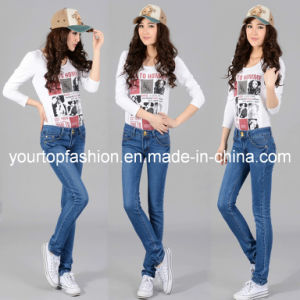 Hot Sell Ladies Branded Jeans,Womens Designer Jeans
