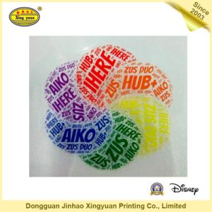 Transparent Colorful PVC Self Adhesive Sticker pictures & photos