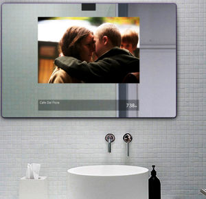 Wall Mount Motion Sensor Advertising Player with Magic Mirror Digital Signage pictures & photos
