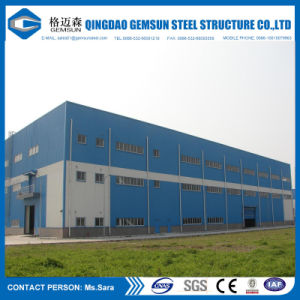 Ce Certification Prefabricated Steel Building Steel Workshop Fabrications pictures & photos