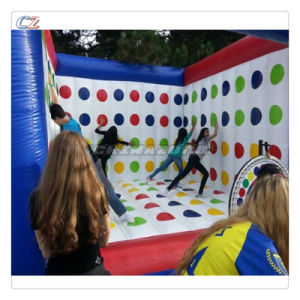 Creative Designed High Quality Inflatable Twister Game Air Twister Bouncer pictures & photos
