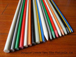 High Strength Pultruded Fiberglass/FRP Plastic Stake Rods pictures & photos