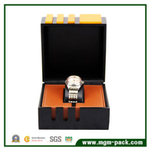 Elegant Clamshell Packaging Watch Box for Business pictures & photos