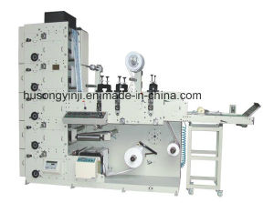 Flexo Printer (3 Die Cutting Stations, Sheeting station) pictures & photos