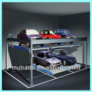 Best Made in China Hydraulic Best Automatic Garage Lift pictures & photos