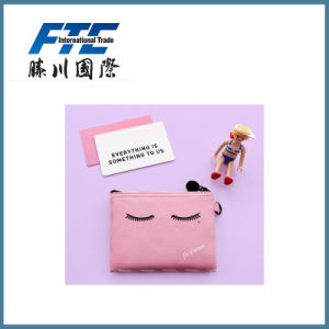 Lady Girls Handhold Leather Coin Purse pictures & photos
