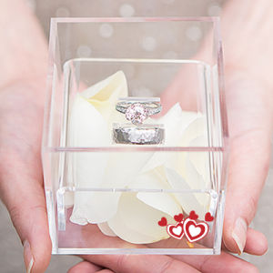 New Fashion Acrylic Ring Bin Box pictures & photos