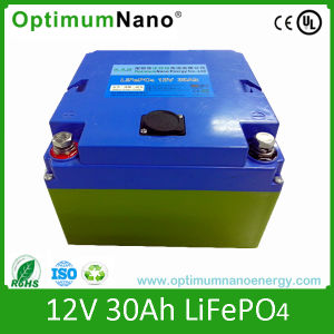 12V 30ah LiFePO4 Battery Used for LED Lighting pictures & photos