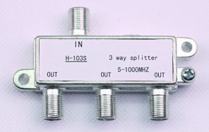 3way Indoor CATV Splitter (SHJ-H103S) pictures & photos