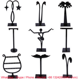 Black Acrylic Earring Display Stand pictures & photos