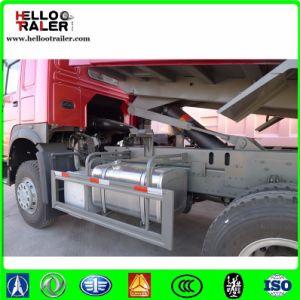 371HP Left Hand Driving Hc16 Rear Axle 6 X 4 Tipper Dump Truck pictures & photos