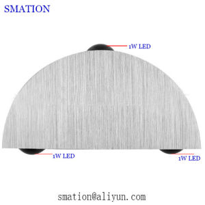 Wall Mounted LED Bedroom Metal Round Unusual Interior Wall Lights pictures & photos