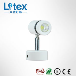 6W Pkw-White LED Spot Wall Light with Multiple Models (LX135/6W)