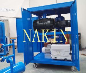 China Manufacturer Super High Vacuum Pump System for Transformer Operation pictures & photos