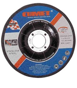 Cutting Disc for Inox (125X3X22.2mm) Abrasive with MPa Certificates pictures & photos