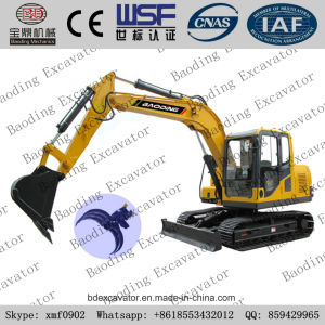 China New Small Wheel Excavator Grab Catching Sugarcane Machine for Sale pictures & photos