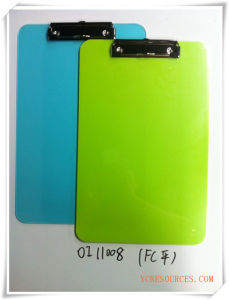Promotional Gifts FC Plastic Clipboards Oi11008 pictures & photos