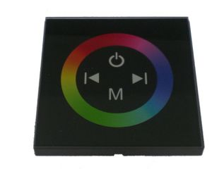 LED Touch Panel RGB Controller 12V~24V Control The LED Lights pictures & photos