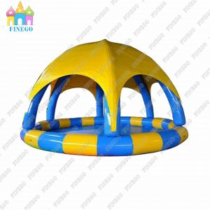 Hottest Selling High Quality Inflatable Water Pool with Canopy pictures & photos