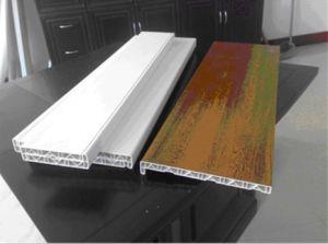 Plastic PVC WPC Window Profile/Door Frame/Window Sill Profile Production Line pictures & photos