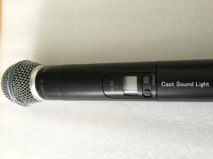 Beta58 / Pgx24 UHF Wireless Professional Microphone pictures & photos