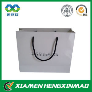 210GSM Luxury Glossy Laminated Paper Bag with Handles