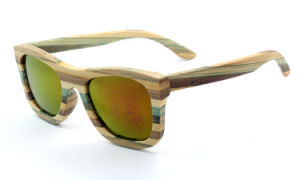 Hight End New Style Wooden Sunglasses (JN0010) pictures & photos