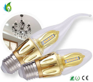 5W LED Candle Bulbs, Screw Ultra Bright Tail Candle Lights pictures & photos