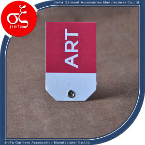 Profession Custom Special Artpaper Tag/Hang Tag with Eyelet pictures & photos