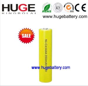 1.2V AAA 350mAh NiCd Rechargeable MP3 Player Battery(nickel cadmium) pictures & photos