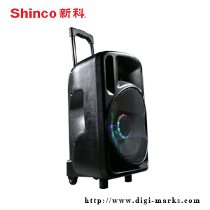 Good Sound Superpower Battery Speaker with LED and Bluetooth pictures & photos